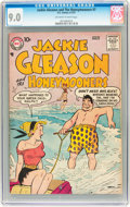 Silver Age (1956-1969):Horror, Jackie Gleason and the Honeymooners #7 (DC, 1957) CGC VF/NM 9.0Off-white to white pages....