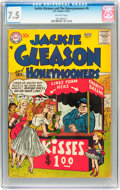 Silver Age (1956-1969):Horror, Jackie Gleason and the Honeymooners #6 (DC, 1957) CGC VF- 7.5Off-white pages....