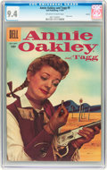 Golden Age (1938-1955):Western, Annie Oakley and Tagg #8 Circle 8 pedigree (Dell, 1956) CGC NM 9.4 Off-white to white pages....