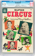 Silver Age (1956-1969):Adventure, Four Color #694 Super Circus - Circle 8 pedigree (Dell, 1956) CGC NM- 9.2 Off-white pages....