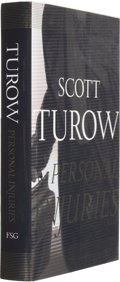 Books:Signed Editions, Scott Turow. Personal Injuries. New York: Farrar Straus Giroux, 1999. First trade edition. Signed and dated by the...