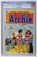 Modern Age (1980-Present):Humor, Archie Comics #307 (Archie, 1981) CGC NM- 9.2 White pages....