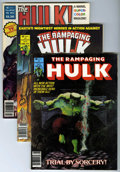 Magazines:Superhero, Rampaging Hulk/Hulk Magazine Group (Marvel, 1978-80) Condition:Average NM 9.4.... (Total: 13 Comic Books)