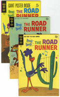 Bronze Age (1970-1979):Cartoon Character, Beep Beep, the Road Runner Group (Gold Key, 1969-73) Condition:Average VF/NM.... (Total: 5 Comic Books)