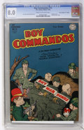 "Golden Age (1938-1955):War, Boy Commandos #13 Davis Crippen (""D"" Copy) pedigree (DC, 1945) CGCVF 8.0 Cream to off-white pages...."