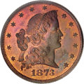 Patterns, 1873 $5 Five Dollar, Judd-1338, Pollock-1482, R.7, PR66 Red and Brown PCGS....