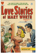 Golden Age (1938-1955):Romance, Love Stories of Mary Worth #1 File Copy (Harvey, 1949) Condition:VF+....