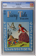 "Golden Age (1938-1955):Funny Animal, Four Color #87 Fairy Tale Parade - Davis Crippen (""D"" Copy)pedigree (Dell, 1945) CGC VF 8.0 Off-white pages...."