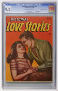 "Golden Age (1938-1955):Romance, Pictorial Love Stories #22 Davis Crippen (""D"" Copy) pedigree(Charlton, 1949) CGC NM- 9.2 Off-white to white pages...."