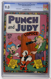 "Punch and Judy Comics V2#10 - Davis Crippen (""D"" Copy) pedigree (Hillman Publications, 1947) CGC VF/NM 9.0 Cre..."