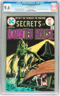 Bronze Age (1970-1979):Horror, Secrets of Haunted House #1 (DC, 1975) CGC NM+ 9.6 Off-white towhite pages....