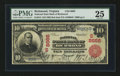 National Bank Notes:Virginia, Richmond, VA - $10 1902 Red Seal Fr. 615 National State Bank Ch. #(S)8666. ...