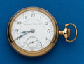 Timepieces:Pocket (pre 1900) , Hamilton 17 Jewel, Grade 935, # 25891, circa 1897. ...