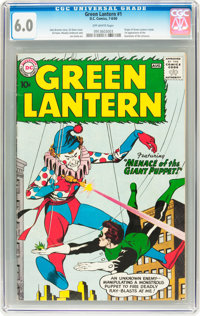 Green Lantern #1 (DC, 1960) CGC FN 6.0 Off-white pages
