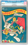 Golden Age (1938-1955):Cartoon Character, Looney Tunes and Merrie Melodies Comics #127 File Copy (Dell, 1952)CGC NM 9.4 Off-white to white pages....