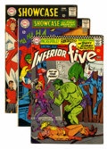 Silver Age (1956-1969):Miscellaneous, Showcase Group (DC, 1966-2001).... (Total: 21 Comic Books)