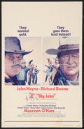 """Movie Posters:Western, Big Jake Lot (National General, 1971). Window Cards (2) (14"""" X 22""""). Western.. ... (Total: 2 Items)"""