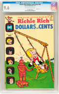 Bronze Age (1970-1979):Humor, Richie Rich Dollars and Cents #40 (Harvey, 1971) CGC NM+ 9.6Off-white to white pages....