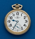 Timepieces:Pocket (post 1900), Ball 21 Jewel, Grade 999B. ...