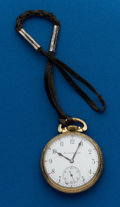 Timepieces:Pocket (post 1900), Hamilton 21 Jewel, Grade 992. ...