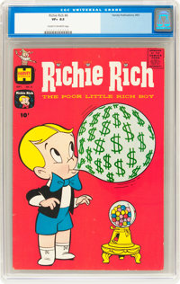 Richie Rich #6 (Harvey, 1961) CGC VF+ 8.5 Cream to off-white pages