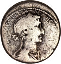 Ancients:Roman Provincial , Ancients: Syria, Seleucis and Pieria. Antiochia ad Orontem. MarkAntony and Cleopatra. 36 B.C. AR tetradrachm,...