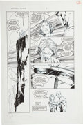 Original Comic Art:Panel Pages, Barry Smith and Jim Lee Deathmate Prologue Doctor Solar page 2 Original Art (Valiant/Image, 1993)....