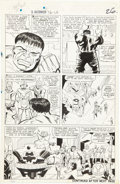 Original Comic Art:Panel Pages, Jack Kirby, Gil Kane and Mike Esposito Tales to Astonish #76Hulk page 7 Original Art (Marvel, 1966)....