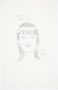Original Comic Art:Sketches, John Romita Sr. Mary Jane Watson Specialty Sketch Original Art (2006)....