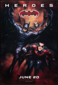 """Movie Posters:Action, Batman & Robin (Warner Brothers, 1997). One Sheet (27"""" X 40"""") SS Advance. Action.. ..."""