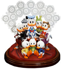 Carl Barks Lavender and Old Lace Limited Edition Figurine #17/25 (Another Rainbow, c. 1992)