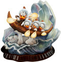Memorabilia:Disney, Carl Barks Luck of the North Unique Deluxe Figurine (Another Rainbow, 1990s)....