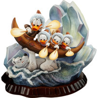 Carl Barks Luck of the North Unique Deluxe Figurine (Another Rainbow, 1990s)