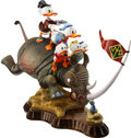 Memorabilia:Disney, Carl Barks Far Out Safari Prototype Deluxe Figurine (AnotherRainbow, 1990s)....