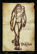 """Movie Posters:Animated, Tarzan Lot (Buena Vista, 1999). One Sheets (3) (27"""" X 40"""") DS Advances. Animated.. ... (Total: 3 Items)"""