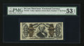 Fractional Currency:Third Issue, Fr. 1341 50¢ Third Issue Spinner Type II PMG About Uncirculated 53 EPQ.. ...