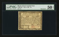 Colonial Notes:Rhode Island, Rhode Island July 2, 1780 $3 PMG About Uncirculated 50 EPQ.. ...