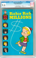Silver Age (1956-1969):Humor, Richie Rich Millions #8 File Copy (Harvey, 1964) CGC NM+ 9.6 Off-white to white pages....