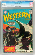 Silver Age (1956-1969):Western, Western Comics #79 (DC, 1960) CGC NM 9.4 Off-white pages....