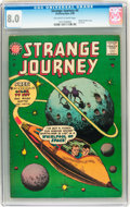 Silver Age (1956-1969):Horror, Strange Journey #4 (America's Best (Steinway Publ.), 1958) CGC VF8.0 Off-white to white pages....