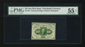 Fractional Currency:First Issue, Fr. 1241 10¢ First Issue PMG About Uncirculated 55 EPQ.. ...