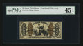 Fractional Currency:Third Issue, Fr. 1370 50¢ Third Issue Justice PMG Choice Extremely Fine 45 EPQ.. ...