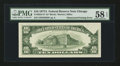 Error Notes:Obstruction Errors, Fr. 2024-G* $10 1977A Federal Reserve Note. PMG Choice About Unc 58EPQ.. ...