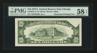 Fr. 2024-G* $10 1977A Federal Reserve Note. PMG Choice About Unc 58 EPQ