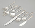 Silver & Vertu:Flatware, A HUNDRED AND FIFTEEN PIECE AMERICAN SILVER SERVICE . Reed & Barton, Taunton, Massachusetts, circa 1941. Marks: Reed & Bar...