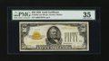 Small Size:Gold Certificates, Fr. 2404 $50 1928 Gold Certificate. PMG Choice Very Fine 35.. ...