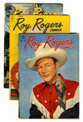 Golden Age (1938-1955):Western, Roy Rogers Comics Group (Dell, 1947-52) Condition: Average VG.... (Total: 17 Comic Books)