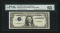Error Notes:Inverted Third Printings, Fr. 1613N $1 1935D Silver Certificate. PMG Gem Uncirculated 65EPQ.. ...