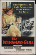 "Movie Posters:Bad Girl, The Wayward Girl (Republic, 1957). One Sheet (27"" X 41""). BadGirl.. ..."