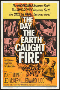 """The Day the Earth Caught Fire (Universal, 1962). One Sheet (27"""" X 41""""). Science Fiction"""